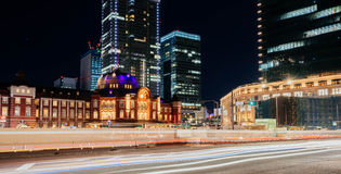 De Post van Tokyo, Japan Stock Fotografie