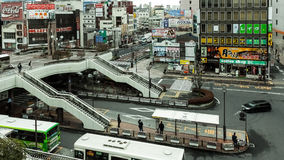 De Post van Utsunomiya in Tochigi, Japan Stock Fotografie