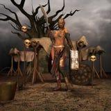 De post vechter van de Apocalyps vector illustratie