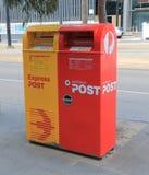 De postbrievenbus van Australië Stock Afbeeldingen