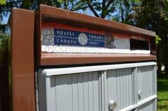 De postbrievenbus van Canada Royalty-vrije Stock Afbeeldingen