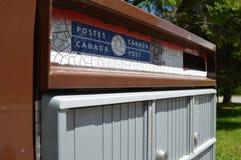 De postbrievenbus van Canada Stock Afbeelding