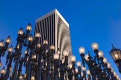 De posten van de lamp Stock Fotografie