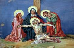 13de Posten van het Kruis Royalty-vrije Stock Afbeeldingen