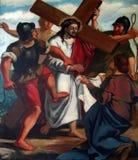 6de Posten van het Kruis royalty-vrije stock afbeeldingen