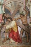 2de Posten van het Kruis Stock Foto