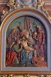 13de Posten van het Kruis Stock Foto