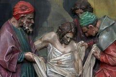 14de Posten van het Kruis Stock Foto's