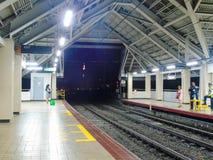 De Postplatform van Abadsantos LRT1 Stock Foto