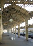 De postplatform van de spoorweg - 2 stock fotografie