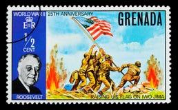 De Postzegel van FDR Royalty-vrije Stock Fotografie