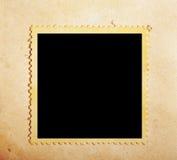 De postzegel van Grunge Stock Foto