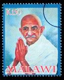 De Postzegel van Karamchand Gandhi van Mohandas Stock Fotografie