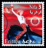 De Postzegel van Madonna Royalty-vrije Stock Foto's