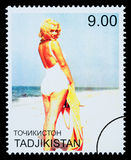 De Postzegel van Marilyn Monroe Stock Foto