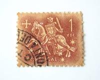De Postzegel van Portugal Stock Afbeeldingen