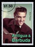 De Postzegel van Presely van Elvis Stock Foto's