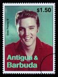 De Postzegel van Presely van Elvis Stock Afbeeldingen