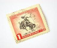 De Postzegel van Uruguay stock fotografie