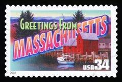 De Postzegel van de V.S. royalty-vrije stock fotografie