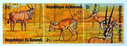 De Postzegels van de V Stock Fotografie