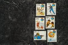 De Postzegels van de V Royalty-vrije Stock Foto