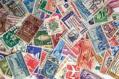 De Postzegels van de V.S. Stock Foto's