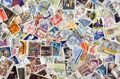De Postzegels van de wereld Royalty-vrije Stock Foto's