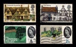De Postzegels van het Verenigd Koninkrijk royalty-vrije stock foto