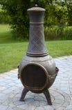 De Pot van de Brand van Chiminea royalty-vrije stock afbeeldingen