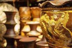 De pot van de draakbloem Royalty-vrije Stock Foto