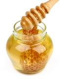 De pot van de honing Royalty-vrije Stock Afbeelding