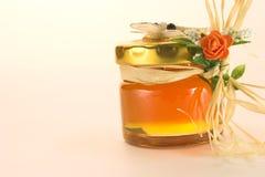 De pot van de honing Stock Foto's
