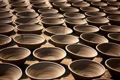De pot van de klei Stock Foto's