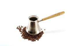De pot van de koffie Royalty-vrije Stock Afbeelding