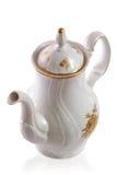 De pot van de koffie van de Tsjechische dienst royalty-vrije stock afbeeldingen