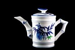 De pot van de thee Stock Foto's