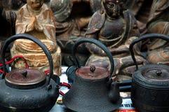 De pot van de thee Royalty-vrije Stock Afbeeldingen