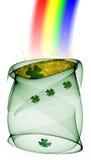 De Pot van heilige Patrick stock illustratie