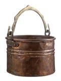 De pot van het koper Royalty-vrije Stock Fotografie