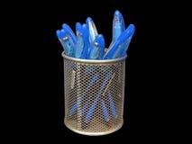 De pot van pennen Royalty-vrije Stock Foto's