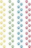 De poten van de kat Stock Afbeeldingen