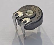 de potentiometer van de elektronisch deel enig-draai royalty-vrije stock foto