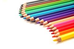 De potloden van de kleur Royalty-vrije Stock Afbeelding