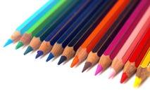 De potloden van de kleur royalty-vrije stock fotografie
