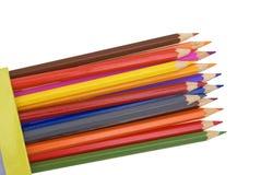 De potloden van de kleur. royalty-vrije stock afbeeldingen