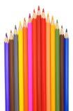De potloden van de kleur. royalty-vrije stock foto