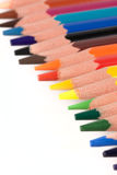 De potloden van de kleur Stock Afbeelding