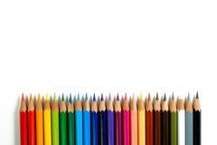 De Potloden van de kleur - 2 Royalty-vrije Stock Foto