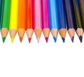 De potloden van de kleur Stock Foto's